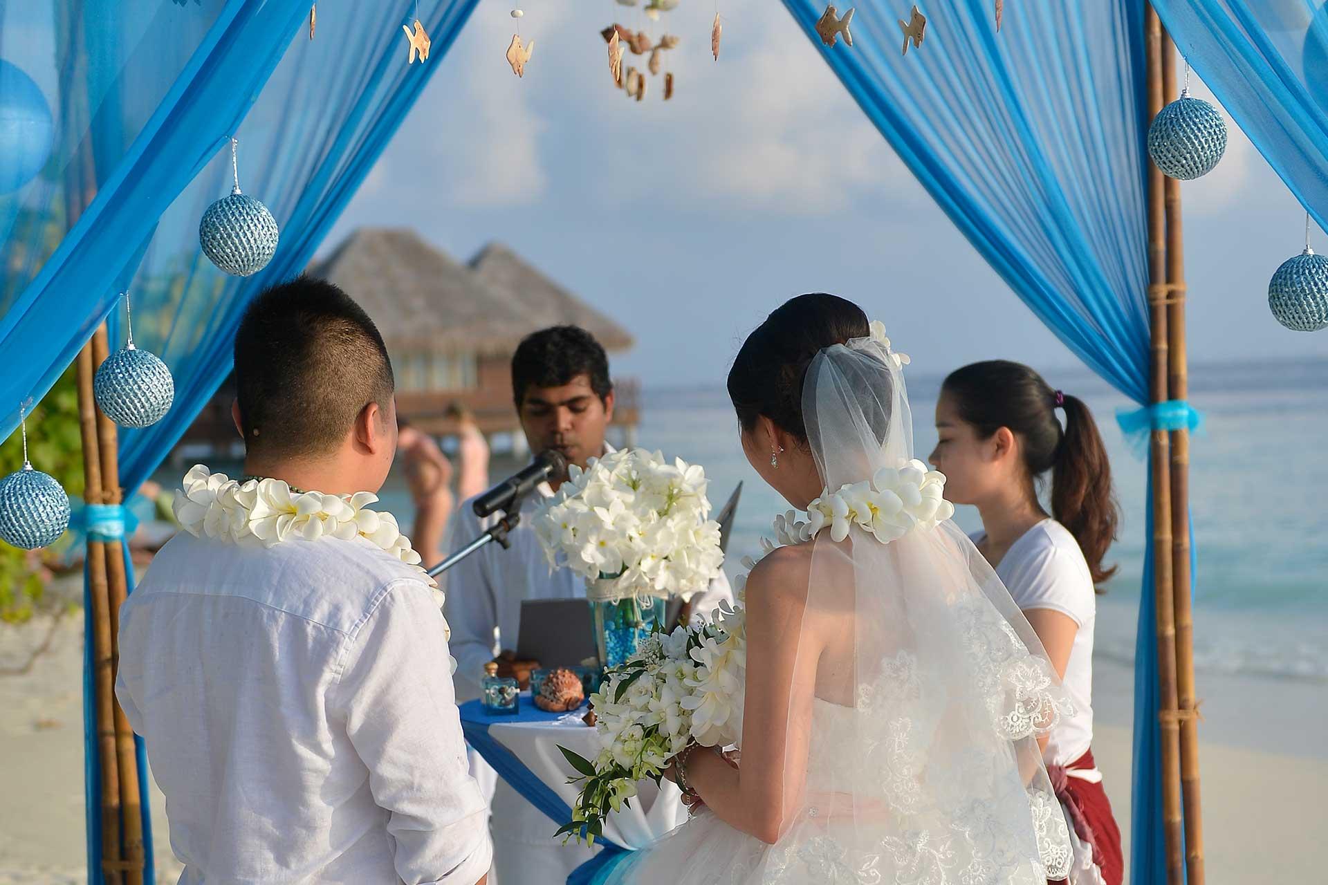 Сватба в хотел Bandos Maldives