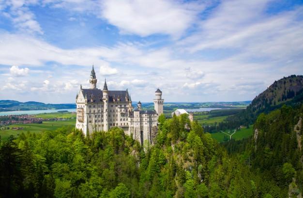 ГЕРМАНИЯ - долината на река Рейн и Баварските замъци!